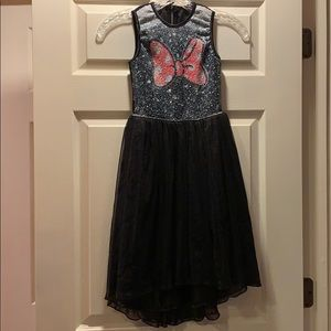 Disney Minnie Mouse Sequin & Tulle Dress